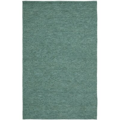 Nubby Tweed Mallard Area Rug Rug Size: Rectangle 5 x 8