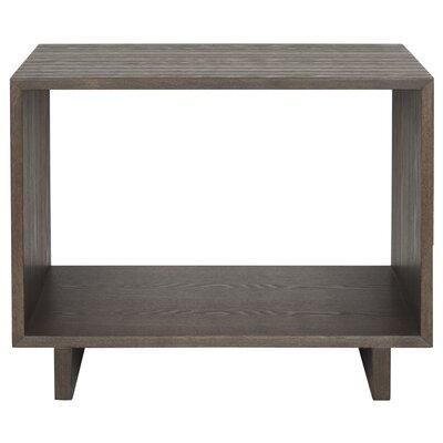 Raylan End Table Color: Dark Brown