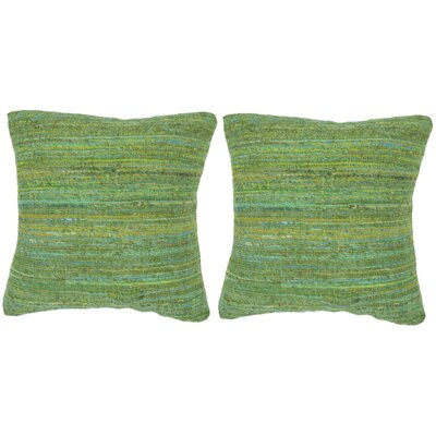 Eloise Throw Pillow Color: Glorious Green