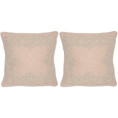 Florentine Linen Throw Pillow