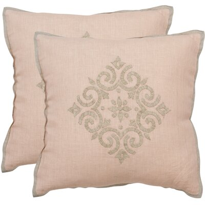 Isola Linen Throw Pillow Size: 20 x 20