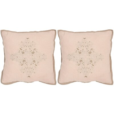 Liege Linen Throw Pillow