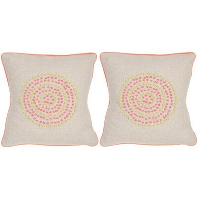 Love Knots Linen Throw Pillow