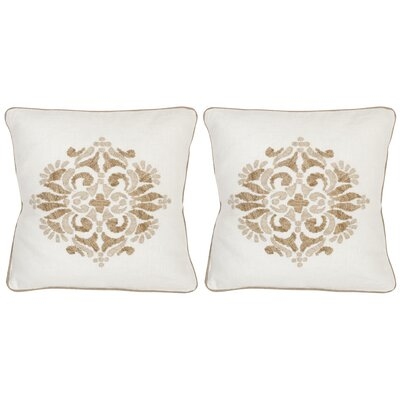 Margherite Linen Throw Pillow