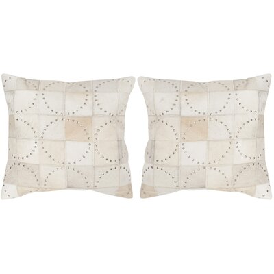 Phoebe Cowhide Throw Pillow Size: 22 H x 22 W x 2.5 D