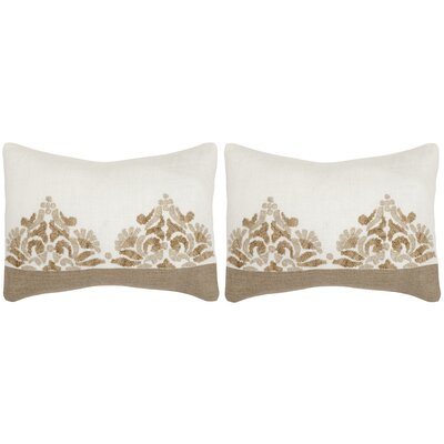 Marseille Linen Lumbar Pillow