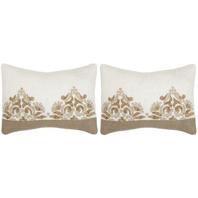 Marseille Linen Lumbar Pillow