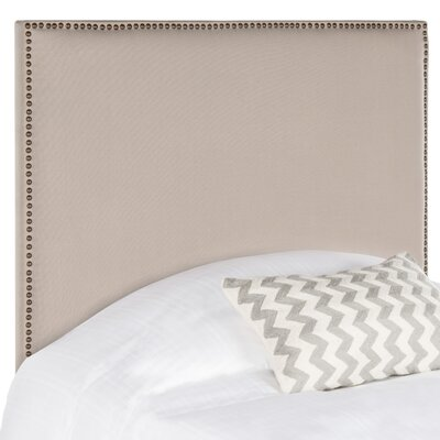 Sydney Upholstered Panel Headboard Size: Twin