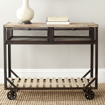 Safavieh Shroder Rolling Console Table