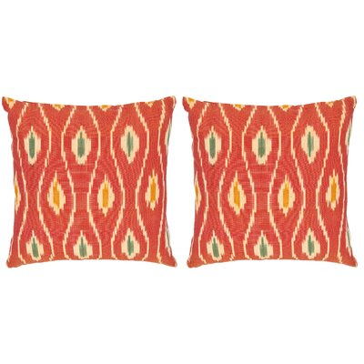 Taylor Cotton Throw Pillow Size: 22
