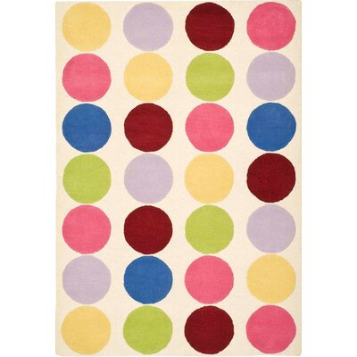 Claro Polka Dot Area Rug Rug Size: Rectangle 4 x 6