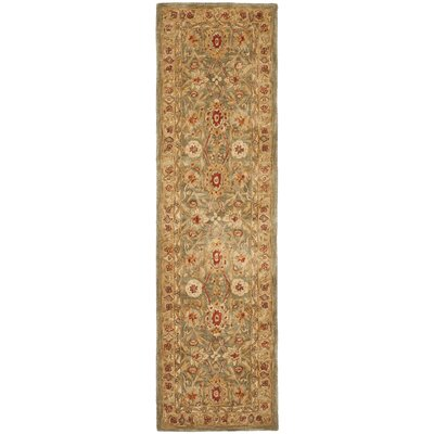 Pritchard Traditional Area Rug Rug Size: Runner 23 x 22