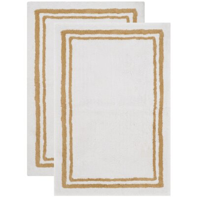 Plush Master Bath Beige Area Rug