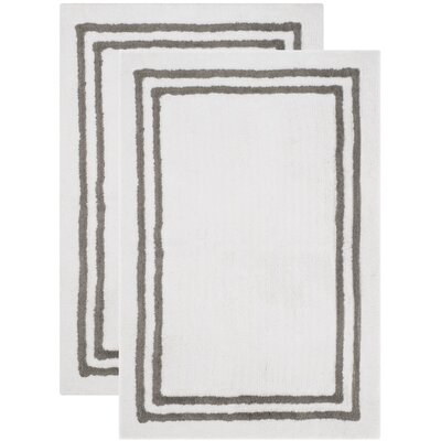 Plush Master Dark Gray Bath Area Rug