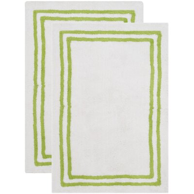 Plush Master Light Green Bath Area Rug