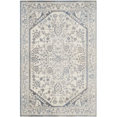 Patina Light Gray & Blue Area Rug