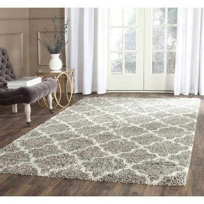 Klar Gray Area Rug Rug Size: Rectangle 4 x 6