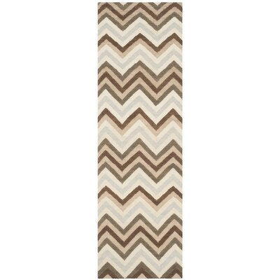 Dhurries Multi Area Rug Rug Size: Runner 26 x 8