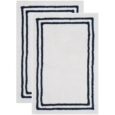 Plush Master Navy Bath Area Rug