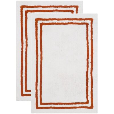 Plush Master Rust Bath Area Rug