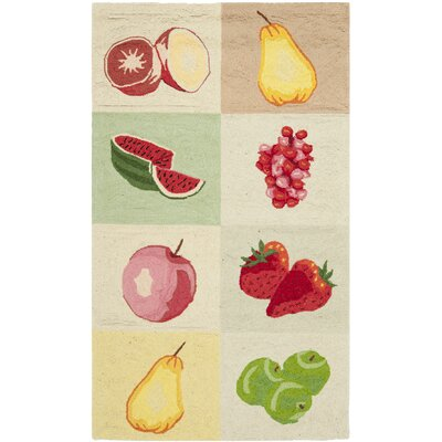 Isabella Fruit Novelty Area Rug Rug Size: 6 x 9