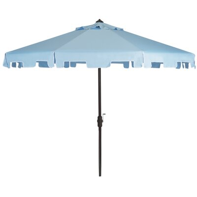 9 Drape Umbrella Fabric: Blue