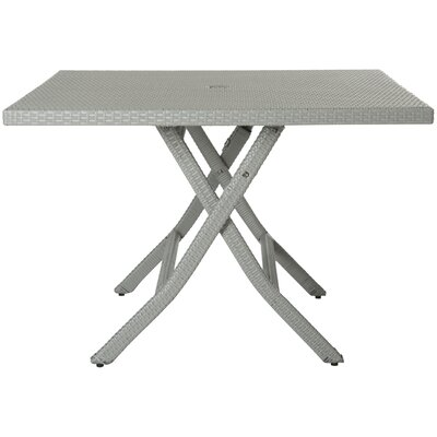 Samana Dining Table Color: Grey