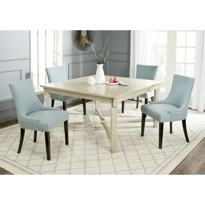 Bleeker Dining Table Color: White Washed