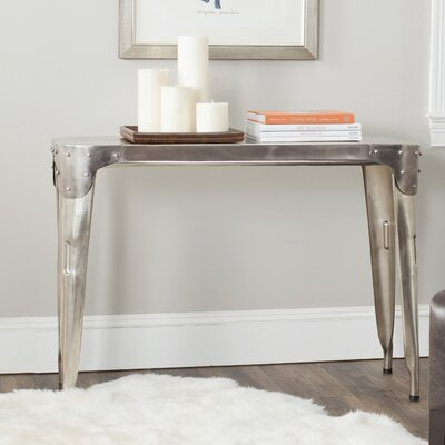 Fox Classic Console Table Color: Dark Ant Silver