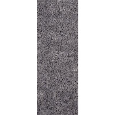 Ariel Gray Area Rug Rug Size: Runner 23 x 6