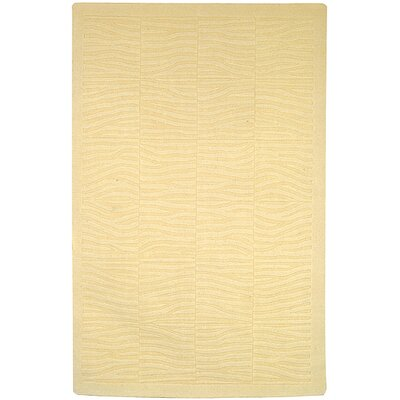 Impressions Horizon Antique White Contemporary Rug Rug Size: Runner 23 x 8