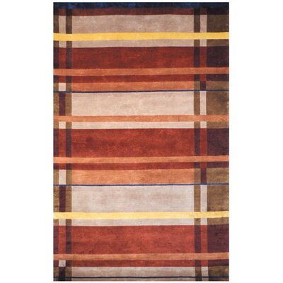 La Carta Pile Red Area Rug Rug Size: 5 x 8