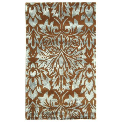 Riviera Blue / Beige Contemporary Rug Rug Size: 19 x 210 Rectangle