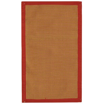 Sierra Beige/Red Rug Rug Size: Rectangle 19 x 210