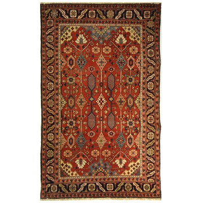 co Turkistan Red / Navy Oriental Rug Rug Size: 8 x 10 Rectangle