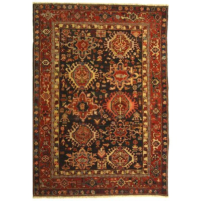 Turkistan Green / Red Oriental Rug Rug Size: 6 x 9 Rectangle