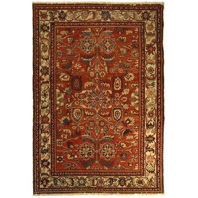 Turkistan Red / Ivory Oriental Rug Rug Size: 8 x 10 Rectangle