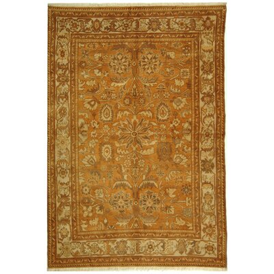 Turkistan Gold / Ivory Oriental Rug Rug Size: 9 x 12 Rectangle