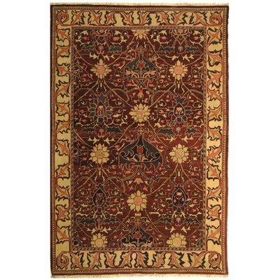 Turkistan Plum/Ivory Rug Rug Size: 9 x 12