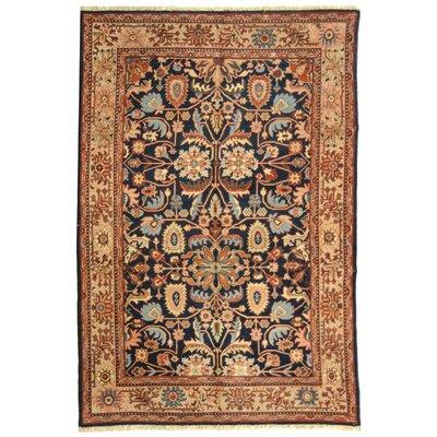 Turkistan Blue / Ivory Oriental Rug Rug Size: 9 x 12 Rectangle
