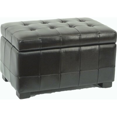 Small Manhattan Storage Bench in Black