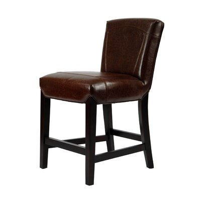 Rent to own Ken Upholstered Counter Stool in Br...