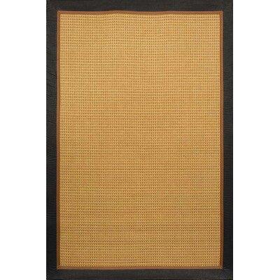 Hamilton Beige & Black Area Rug Rug Size: Rectangle 86 x 112