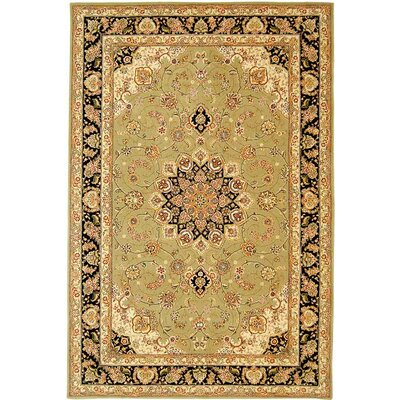 Persian Court Supreme PC136A Sage / Navy Oriental Rug Rug Size: 8 Round