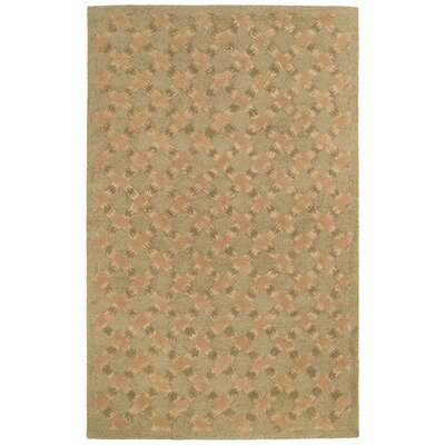 Soho Trellis Light Green Contemporary Rug Rug Size: 76 x 96