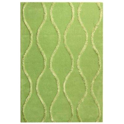 Soho Aqua / Green Contemporary Rug Rug Size: 6' x 9'