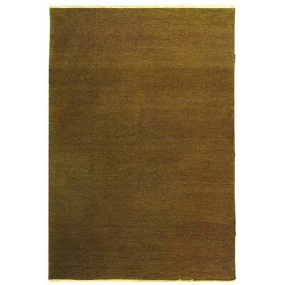 Sumak Mouse/Brown Rug Rug Size: 4 x 6