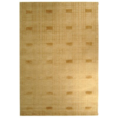 Tibetan TB120G Gold Contemporary Rug Rug Size: Rectangle 6 x 9