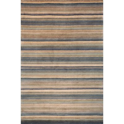 Tibetan Stripes TB198H Blue / Multi Contemporary Rug Rug Size: 4 x 6