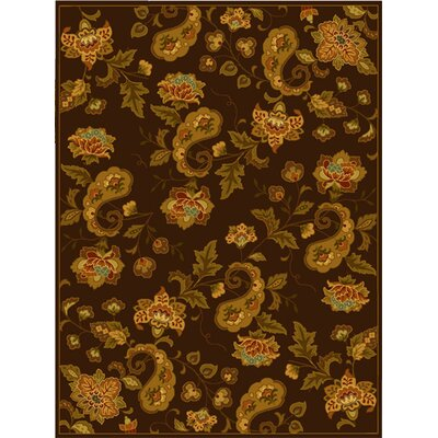 Berkeley Brown Area Rug Rug Size: 89 x 119